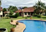 Villa in Pattaya with swimming pool and staff house and houe for guests - DDproperty.com