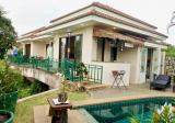 House with swimming pool at a little lake in Pattaya, Huai Yai - DDproperty.com