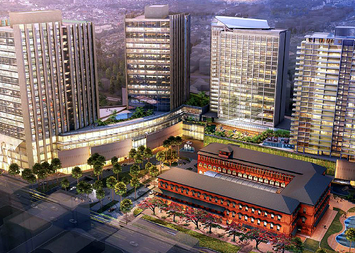 The Landmark Yangon Myanmar mixed use development