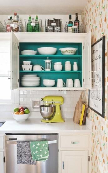 15 วิธีเก็บของจุใจในห้องครัวขนาดเล็ก