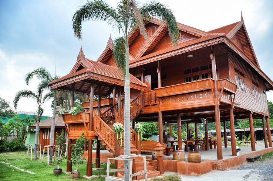 บ้านทรงไทย ตอบโจทย์เมืองไทย ป้องกันความร้อนและอุทกภัยได้