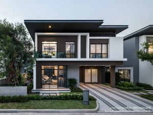 Single house project in bangkok