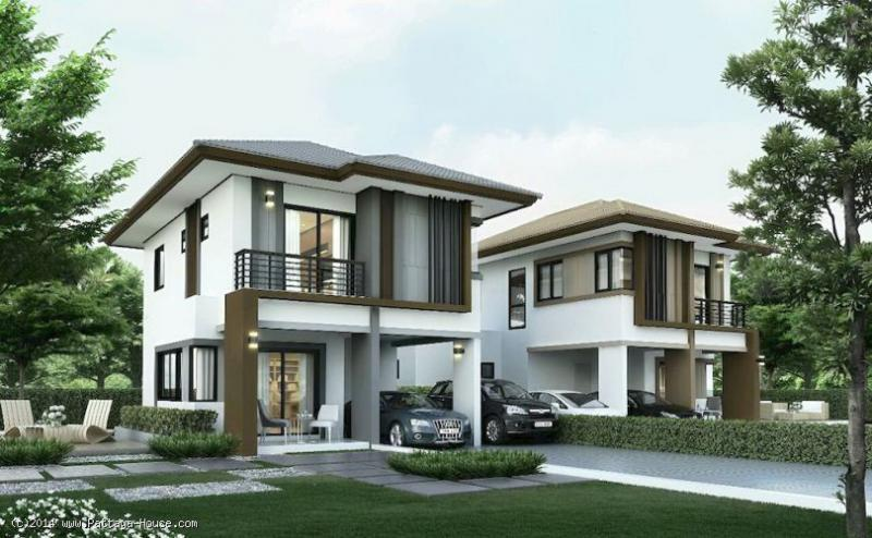 3 bedroom 2 storey house for sale in east pattaya for 2 storey house for sale