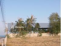 ขาย - ขาย ที่ดินสวยใกล้ทะเล(50เมตร) ปราณบุรี16 เนื้อที่4ไร่ ติดถนนสองด้าน หน้ากว้าง40ม.