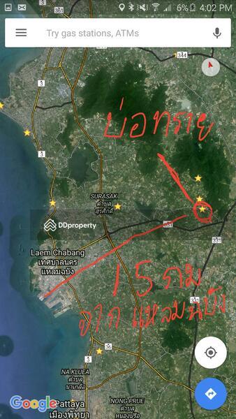 Si Racha Land With Sand 68 Rai Nong Kham Si Racha Chon Buri
