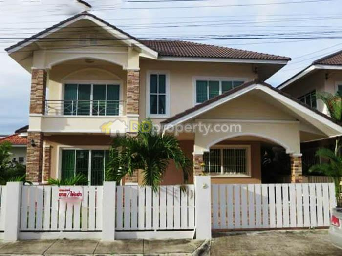 Asp0062 A Detached House With 4 Bedrooms 80 Sq Wah Near Bo Sang