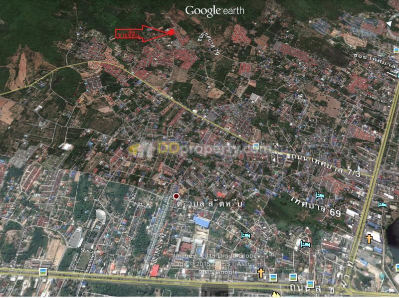 Land for Sale in Sattahip City Chonburi Province Resort Atmosphere