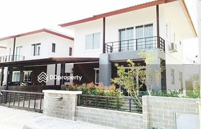 ให้เช่า - ASP0097 บ้านเช่า บ้านจัดสรร2ชั้น 3 ห้องนอน 13, 000 บาทต่อเดือน