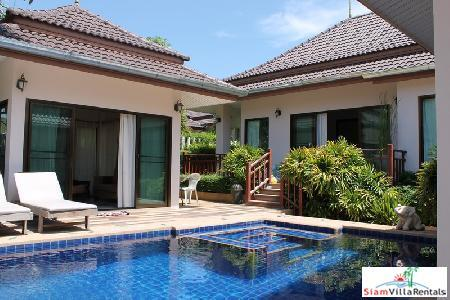 3 Bedrooms Villa With Private Swimming Pool For Rent Only Few Minutes To Hua Hin Town