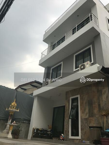 Modern House For sale 3  5 Floors Near University of the Thai Chamber of  Commerce (Soi Pr