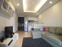 For Rent - for rent Thru Tonglor Mrt pechburi  38 sqm. 1 bed 19th floor fully furnished