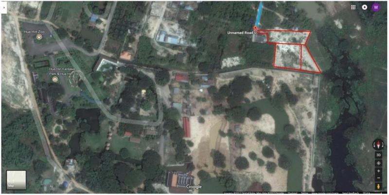 Large Plot Of Land in Hua Hin Hin Lek Fai District Hua Hin Soi 70