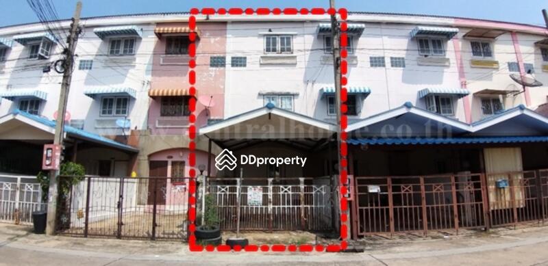 ทาวเฮ้าส์ 3 ชั้น  หมู่บ้าน แคนนาเฮ้าส์ นนทบุรี