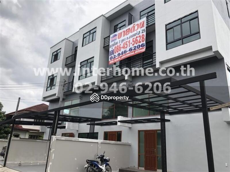 5eb7fe6c1fd Townhouse 3. 5 Floors 27. 9 Sq. W. Near Big C Ladprao Soi Ladprao 25 ...