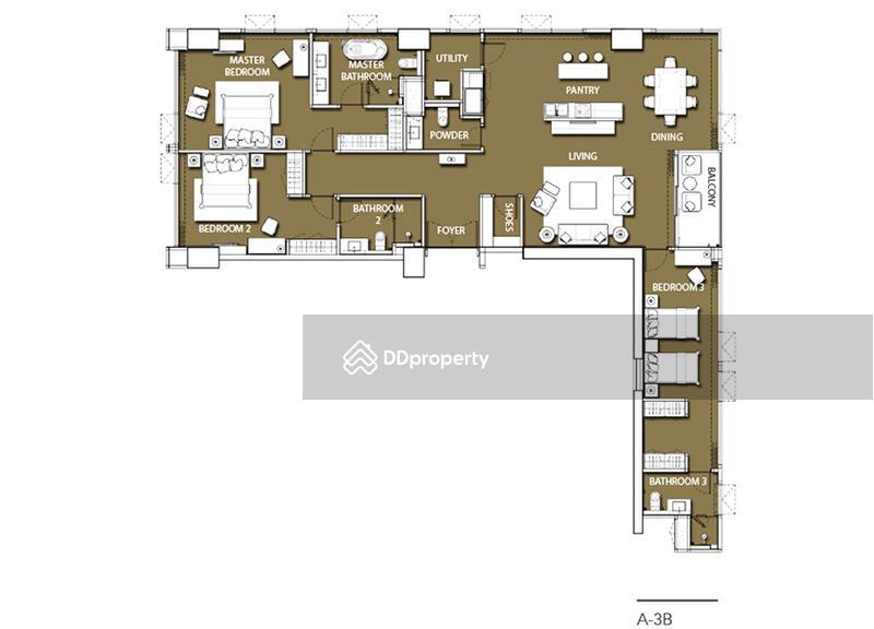 Sindhorn Residence (สินธร เรสซิเดนซ์) #60505998