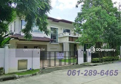 For Sale - ขาย บ้านเดี่ยว หลังมุม หมู่บ้าน เดอะ ซิตี้ รัตนาธิเบศร์ – แคราย ใกล้เซนทรัลรัตนาธิเบศร์  ใกล้รถไฟฟ้าสายสีม่วง  T. 061-289-6465