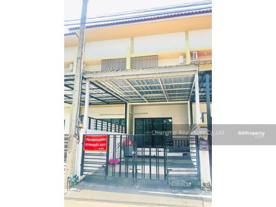 For Rent - R0362 Two storey town house for rent, Opposite of  Big C donchan. Close to Promenada, BigC donchan, Chiangmai I