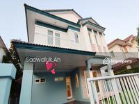 ขาย - ขายด่วน ! บ้านเดี่ยว มัณฑนา บางนา กม. 13 ใกล้ HomePro บางนา 3ห้องนอน 4ห้องน้ำ พื้นที่ 65 ตร. วา
