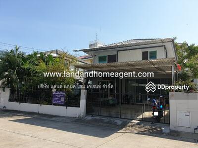 For Sale - ขาย บ้านเดี่ยว พฤกษ์ลดา ประชาอุทิศ90 บ้านเลขที่สวย 4 ห้องนอน แปลงใกล้สโมสร