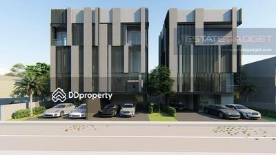 ขาย - ขายบ้านแฝดสร้างใหม่ 4ห้องนอน 5ห้องน้ำ ซอยปรีดีพนมยงค์ (สุขุมวิท71) เพียง 10 นาที (2กม. ) จาก BTSพระโขนง