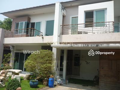 For Sale - A Single House 2 storeys for sale. RASIKA Villa Garden Village. Located Bang Kruai – Sai Noi Road. /38-HH-62159