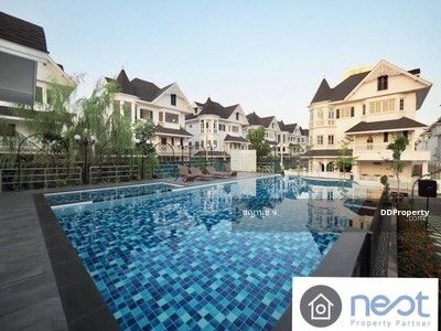 For Rent - A Victorian style detached house in Fantasia Villa 4 Bangna for rent