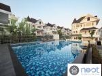 A Victorian style detached house in Fantasia Villa 4 Bangna for rent
