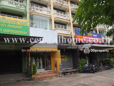 For Sale - อาคารพาณิชย์ 4 ชั้น หมู่บ้านสุนทร 7 ติดถนนเอกชัย ซอย 89/0 ทำเลดี ค้าขายดี จอดรถได้หลายคัน