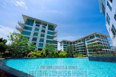 For Sale - The Sanctuary Wongamat - 2 Bedroom Condo for Sale, Pool View