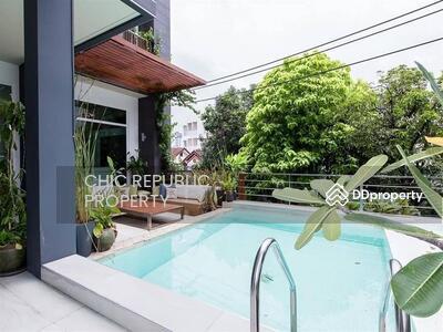 For Rent - ขาย  House for sale / rent in Sukhumvit 65, 5 bedrooms, 7 bathrooms, 63 square wah near BTS Ekamai