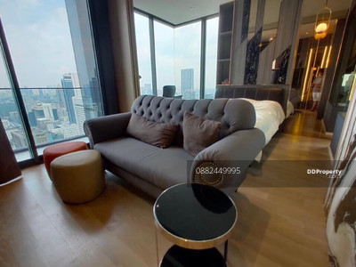 For Rent - For rent . .. Ashton Silom, 1bed, 1bath with bathtub, 50. 5sqm, 40th flr, East view, Unblock view