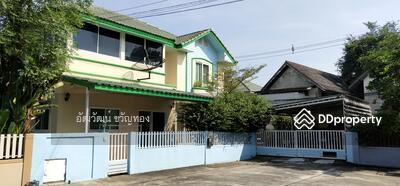 For Sale - ขาย บ้านเดี่ยว ถนนประเสริฐมนูกิจ หมู่บ้านบ้านสวนนวมินทร์ 42 หลังริม 72. 3 ตารางวา 3 ห้องนอน 4 ห้องน้ำ พร้อมห้องทำงานและห้องแม่บ้าน บึงกุ่ม กรุงเทพฯ