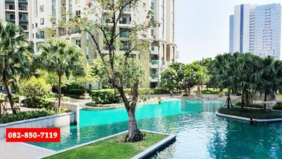 For Sale - Sell luxury condo Belle Grand Rama 9 ( ready to move in and fully furnished, Room size 193 sqm. Pool View)