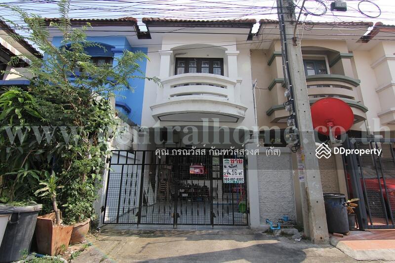 หมู่บ้าน นริศา ทาวน์เฮ้าส์ 2 ชั้น 16 ตร.ว ถนนบ้านกล้วย-ไทรน้อย / บางบัวทอง #72183150