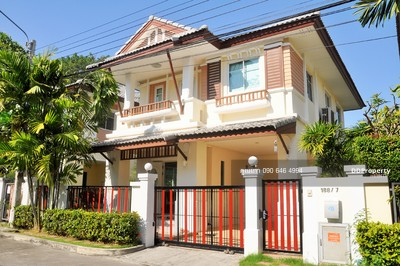 For Rent - GX ให้เช่า บ้านเดี่ยว เอโทล ลันตา รีสอร์ทไลฟ์ บางนา วงแหวน Atoll Lanta Resort Life
