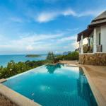 Villa with sea view conveniently situated between Choeng Mon and Chaweng [HUSM25417