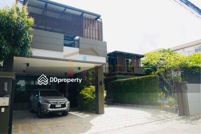 ขาย - ขายบ้านเดี่ยว สร้างใหม่ พร้อมสระว่ายน้ำ 4 ห้องนอน สุขุมวิท 71 ปรีดีพนมยงค์   HS0022014