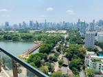 Unique 4 bedrooms apartment with lake view close to BTS Asoke [ABKK26257