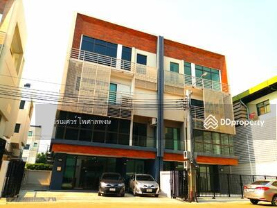 ขาย - ขายถูกที่สุด! ! Home Office  4 ชั้น (เลียบด่วน เอกมัย-รามอินทรา) 44. 6 ตร. ว. 417 ตร. ม.  10 นอน 5 น้ำ หน้ากว้าง 10 เมตร ภายในจอดรถได้ 6 คัน