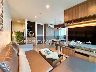 For Sale - CD-622405 Rhythm Sathorn condo for sale near BTS Surasak 1 extra large bedroom