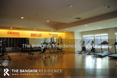 ขาย - CONDO FOR SALE ** Belle Grand Rama 9 ** 3-bedroom Condo Near CBD, Near MRT Phra Ram 9 @16, 050, 000THB
