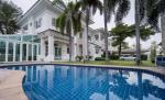House in compound 5 bedrooms with private pool for rent in Bangna [HBKK26105