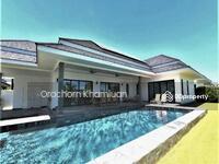 ขาย - New Luxury Pool Villa In Hua Hin Near Palm Hills Golf Resort