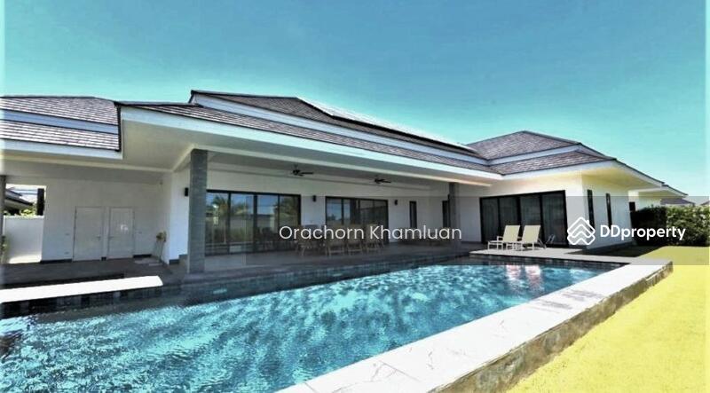 New Luxury Pool Villa In Hua Hin Near Palm Hills Golf Resort #75291060