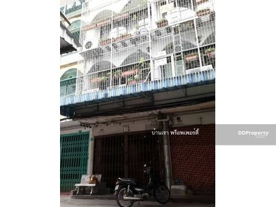 For Sale - ขาย อาคารพาณิชย์ ตึกแถว 4 ชั้น 2 คูหา 26 ตารางวา  ถนน เจริญรัถ8 ซอยสุทธิศึกษา คลองสาน BTS วงเวียนใหญ่  MRT อิสรภาพ