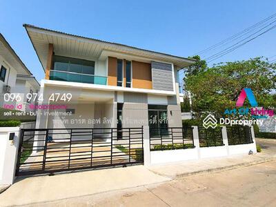 For Rent - ให้เช่าบ้านเดี่ยว 2 ชั้น ม. Perfect Place4ราชพฤกษ์(AOL-P52-2004001524)