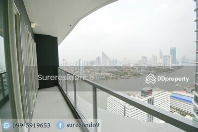 ขาย - RENT & SELL ให้เช่าและขาย 3 นอน  Menam Residences 099-5919653