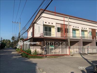ขาย - ขายถูก! ทาวน์เฮ้าส์ หมู่บ้านเจ้าพระยา 2 จังหวัดชลบุรี 03-88-04506