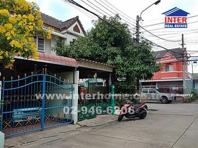 For Sale - ทาวน์เฮาส์ 2 ชั้น (หลังมุม) 25. 5 ตร. ว. หมู่บ้านวัฒน์กาญจน์ ซ. 1 ถนนรัตนาธิเบศร์ - 38470