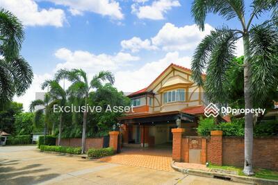 For Sale - ขาย บ้านเดี่ยว ราชพฤกษ์ ตลิ่งชัน ลัดดารมย์ ราชพฤกษ์-ปิ่นเกล้า 91 ตรว. หลังมุม ติดสวนโครงการ ใกล้ทางด่วนศรีรัช